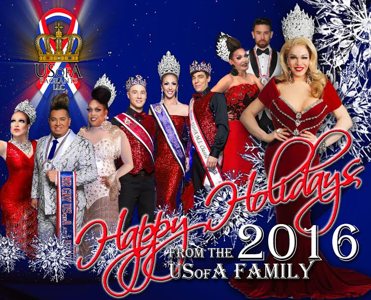 USofA Pageants LLC 2016 Christmas Poster