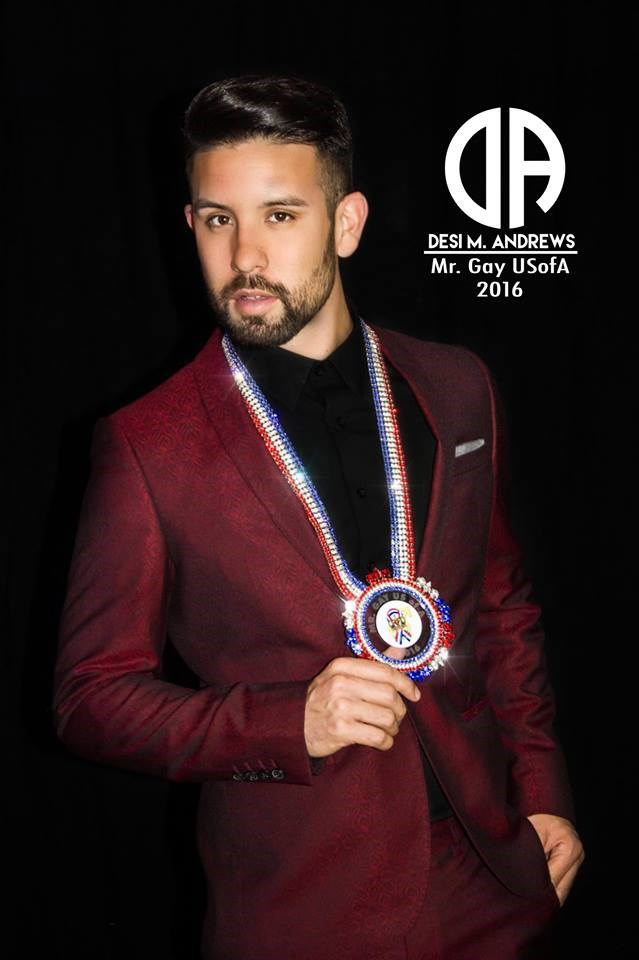 Desi Andrews Mr Gay USofA 2016
