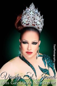 Vanity St. James Miss Gay USofA Newcomer 2016