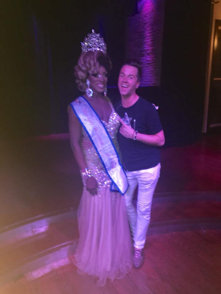 Genevee Ramona Love (Miss Gay Wisconsin USofA 2018) & Bryanna Banx (Miss Gay Wisconsin USofA 2011)