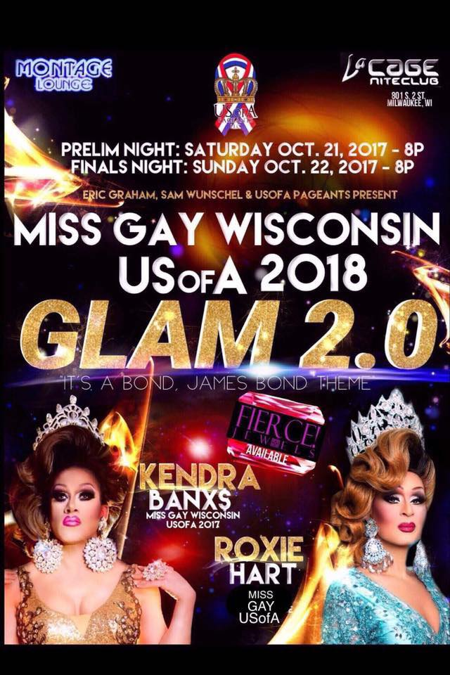 Miss Gay Wisconsin USofA 2018