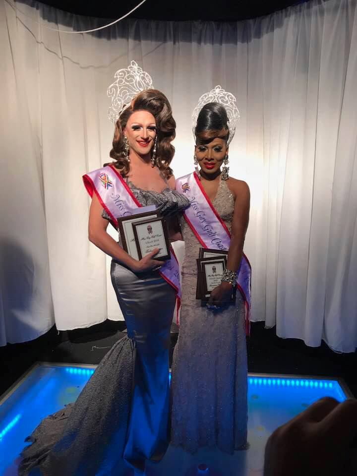Ivy Dripp Miss Gay Gulf Coast USofA 2018 & Mercedes Alexander Miss Gay Gulf Coast USofA Classic 2018