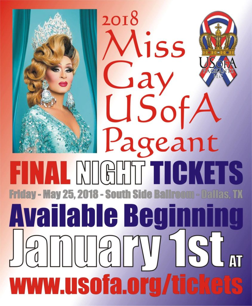 Miss Gay USofA 2018 Final Night Tickets