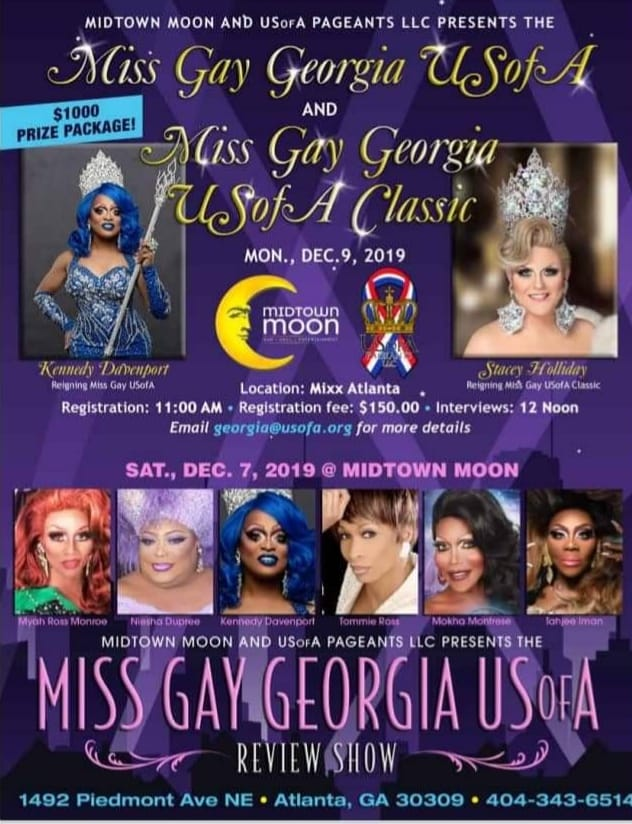 Miss Gay Georgia USofA 2020